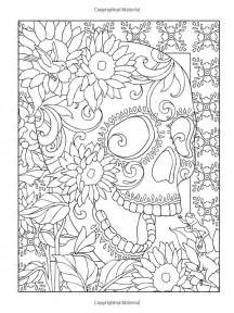 day of the dead coloring book coloring pages for day of the dead sugar skulls