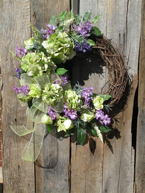 spring wreath for front door spring wreath summer wreath front door wreath by kathyswreathshop