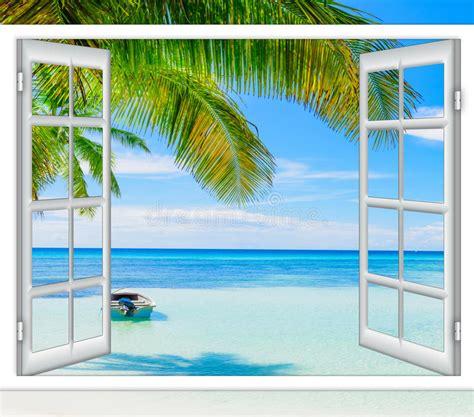 Bild Offenes Fenster Meer offenes fenster meer nzcen
