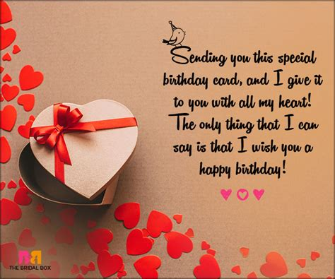 love birthday messages    special
