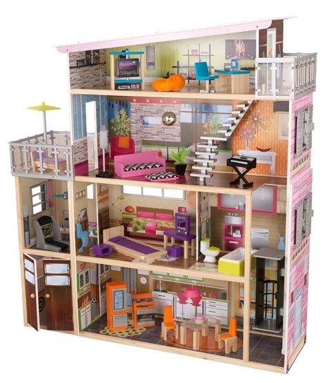 kidkraft wooden doll house best wooden dollhouse 3 selected models