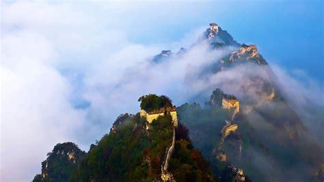 grande muraille de chine fond decran paysage naturel