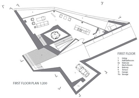 Modern Architecture Floor Plans hebil 157 houses by aytac architects in turkey