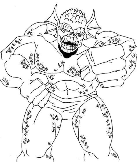 hulk hogan coloring page printable coloring pages