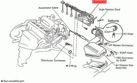 1996 toyota tacoma parts diagram 1996 toyota corolla engine diagram automotive parts