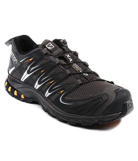 pro sport shoes salomon xa pro 3d black sport shoes price in india buy