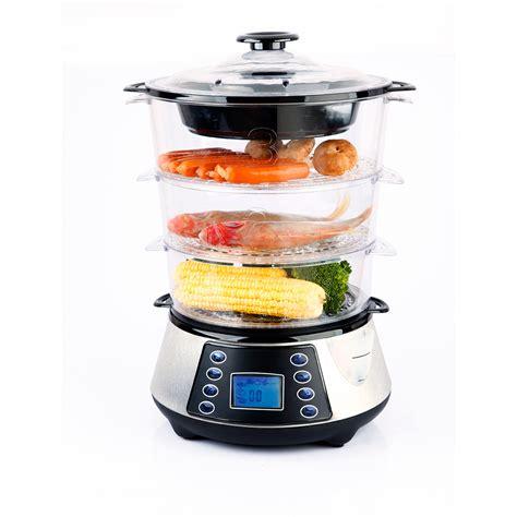 Steamer Rice Cooker Maspion 24 Cm heaven fresh digital food steamer hf8333 review