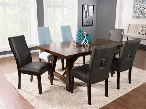 Dining Table Packages Adara 5 Counter Height Dining Package Rectangle Table The Brick