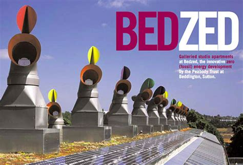 Architect Design Homes Bedzed Beddington Zero Energy Development In London