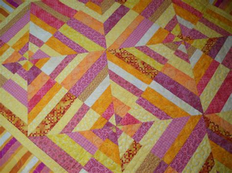 Pink And Yellow Quilt by Pink Orange And Yellow Spider Web Quilt By Clothstitched