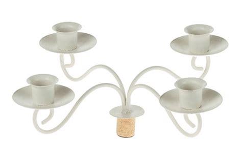 Flaschen Kerzenhalter by Metall Kerzenhalter Aufsatz F 252 R Flasche 28x10 Cm Opitec