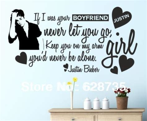 justin bieber wall stickers justin bieber fashion wall stickers home decoration for