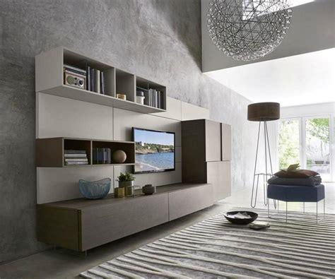 Wohnwand Mit Paneel by Livitalia Wohnwand C34 Mit Tv Paneel Und Highboard