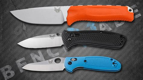 bench made knife three great benchmade knives for under 100 knife newsroom