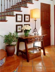 Spanish mexican colonial rustic hall
