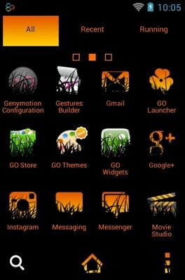 halloween themes for android halloween night android theme for go launcher