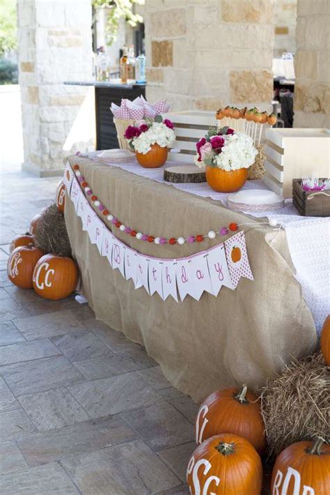 party themes in november pumpkin birthday party ideas photo 3 of 54 catch my party