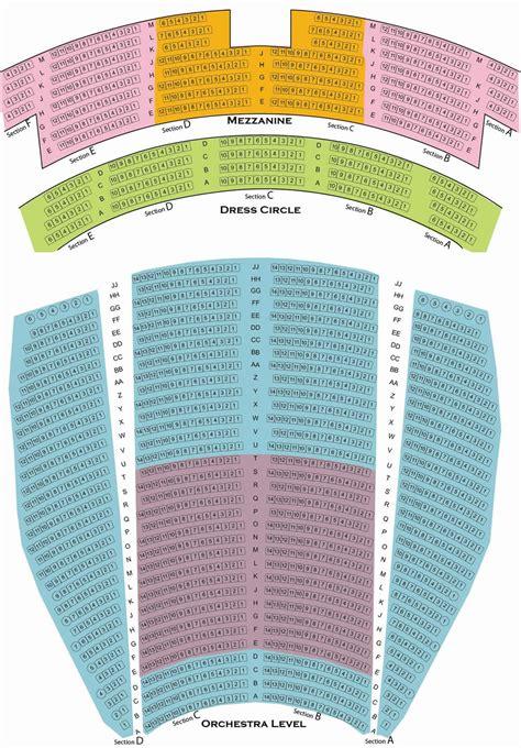 keller auditorium seat map arlene schnitzer seating chart keller auditorium