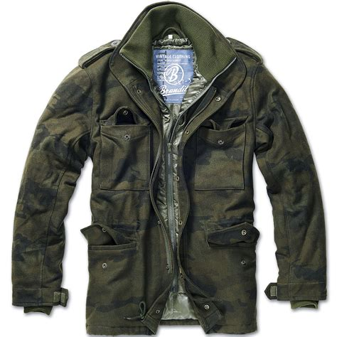 Jaket Parka Army Eagle brandit classic m65 mens field jacket warm parka