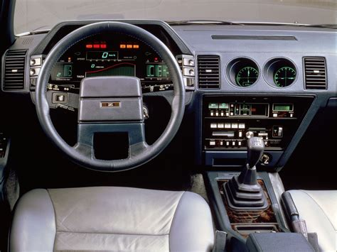 interior of the 1985 nissan cue x concept rebrn