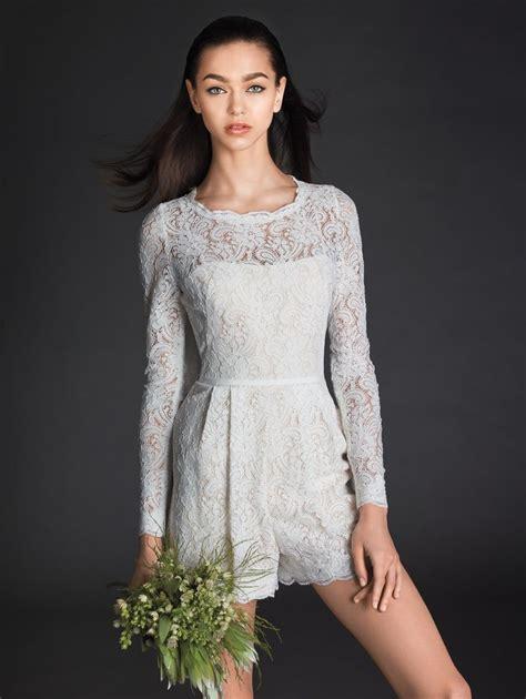 Wedding Dress Romper by Bridal Romper Encore Prato Rompers