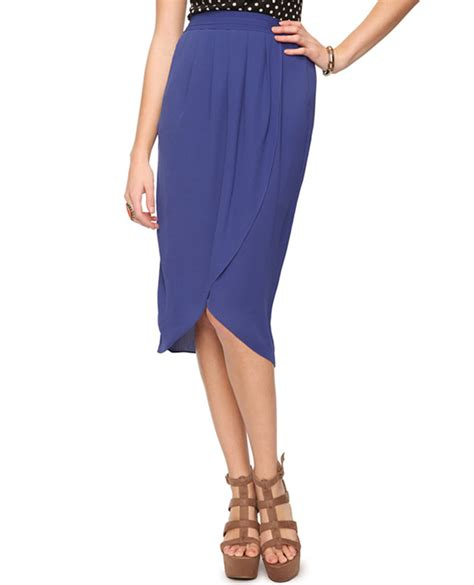 220 ber chic for cheap spied pleated tulip skirt