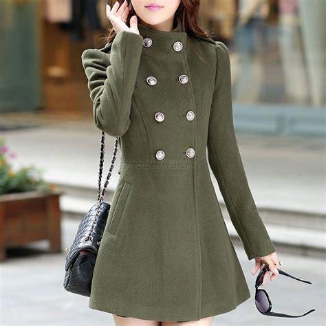 Jaket Wash Koreanstyle vogue winter korean coat jacket windbreaker slim outwear parka ebay