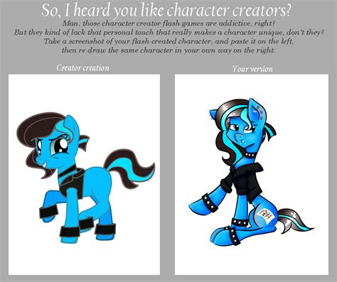 Meme Character Creator - character creator meme by sweetiepony on deviantart