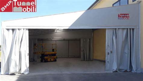 tettoia in pvc tettoia in pvc edf en italia si affida a bmp tunnel mobili