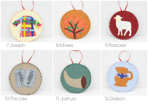 31 Jesse Tree Ornaments Patterns Do Small Things With Great Love Templates For Ornaments