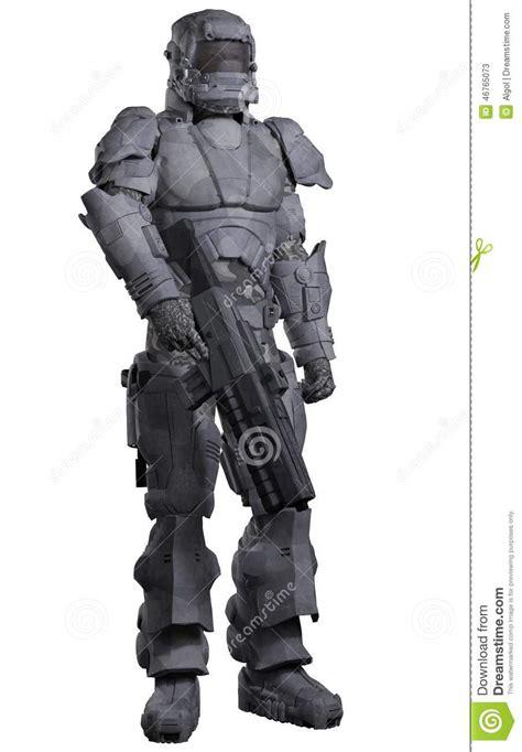 Futuristic L by Future Marine De L Espace Dans L Armure Urbaine De Combat