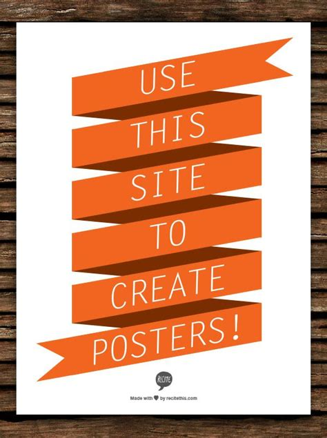 25 best ideas about poster maker on pinterest free