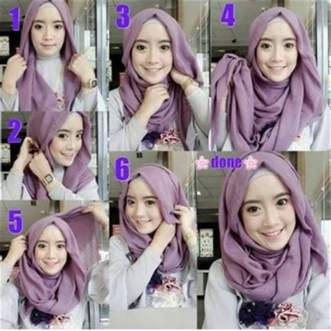 tutorial hijab untuk anak remaja 30 cara memakai jilbab segi empat terbaru remaja update