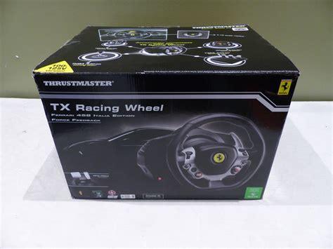 New Thrustmaster Tx 458 Italia Thrustmaster 458 Italia Edition Tx Racing Wheel