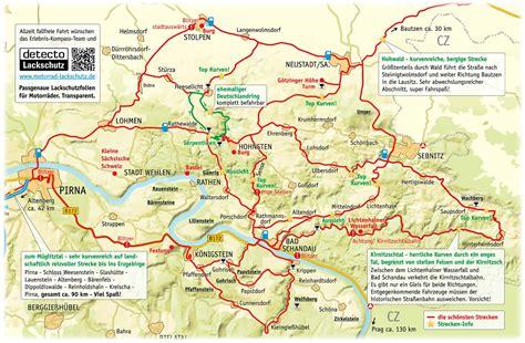 Motorrad Touren Hessen by Motorradtouren Erlebnis Kompass S 228 Chsische Schweiz