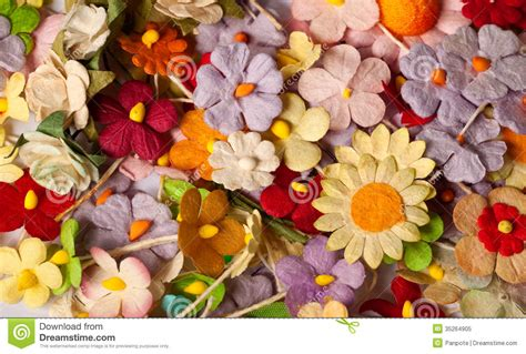 Handcraft Paper - handicraft paper flower royalty free stock photo image