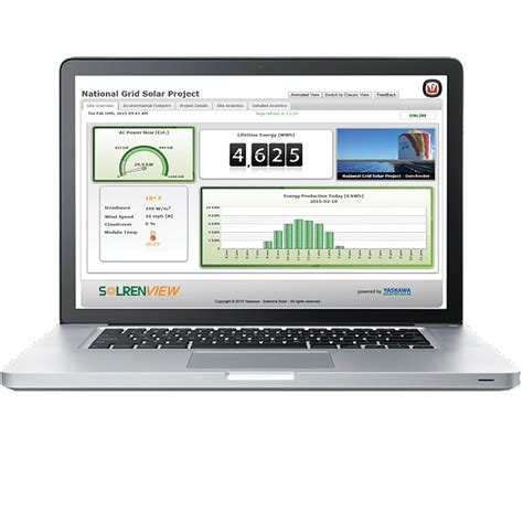 solrenview web based monitoring for solectria pv inverters