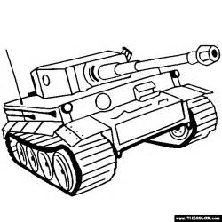 color tanks panzer tiger tank coloring page color tanks