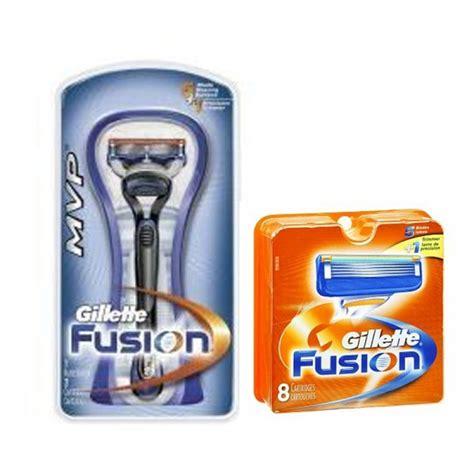 10 blade razor 10 gillette fusion razor blades cartridges