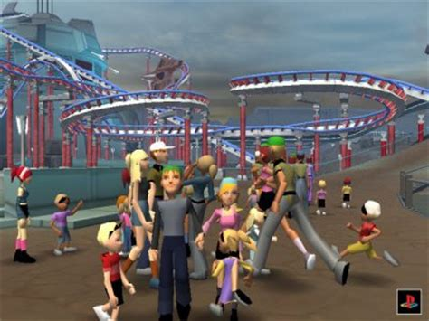 theme park psp thrillville ps2 review