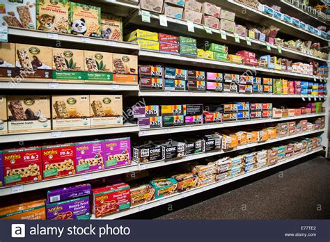 grocery store shelves a foods grocery store aisle with shelves of power