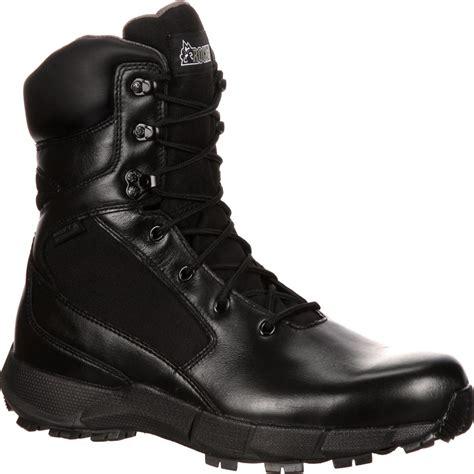 duty boots rocky broadhead waterproof side zip duty boot rkyd015