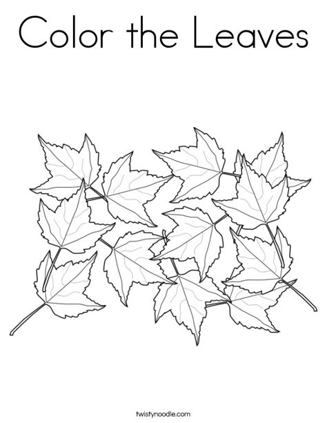leaf coloring pages pdf maple leaf coloring page printable coloring home