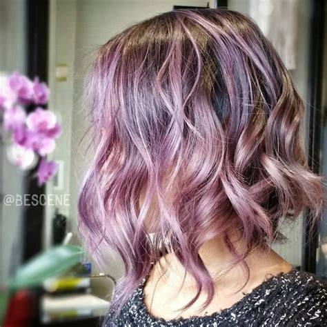 Colored Bob Hairstyles by Hair Color Ideas 20 Gorgeous Pastel Purple Hairstyles