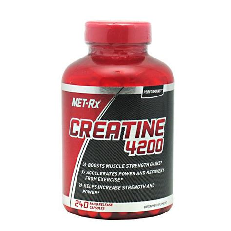 Creatine Ecer Met Rx 40 Caps met rx performance creatine 4200