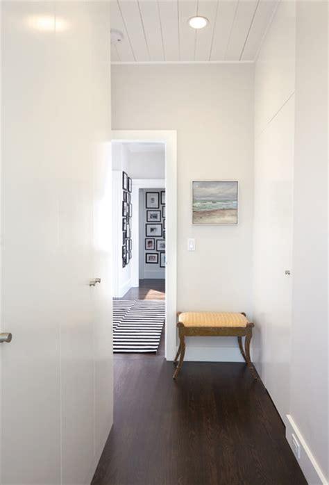 Modern hallway amp hidden closet doors contemporary hall san francisco by jeff king amp company