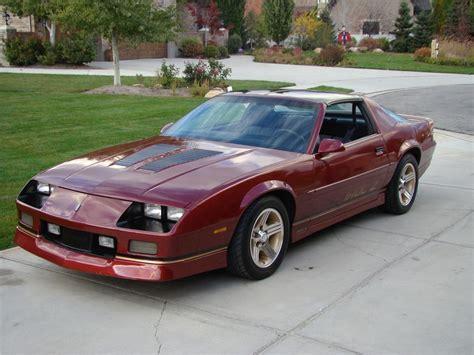 chevy camaro z 1988 chevrolet camaro iroc z coupe 82139