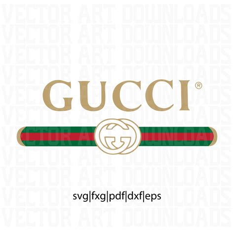 gucci pattern ai gucci washed inspired logo vector art svg dxf fxg pdf eps