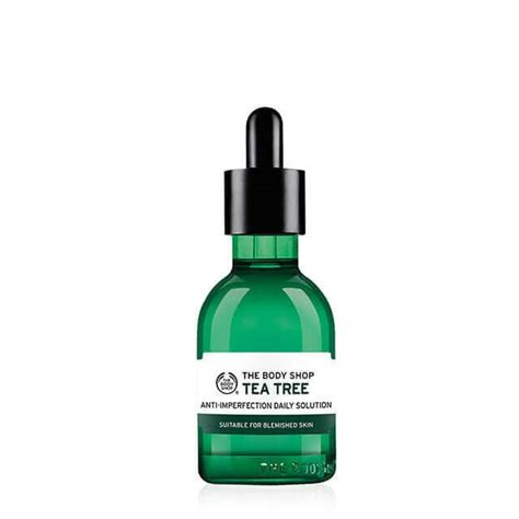 Pelembab The Shop Tea Tree tea tree anti imperfection daily solution
