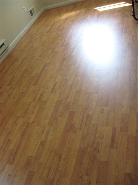 Laminate Floor Installation Project in Baltimore MD